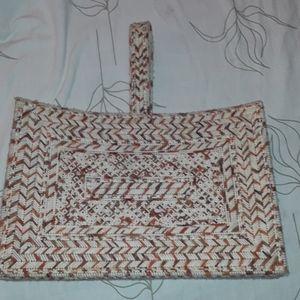 Vintage yarn bag